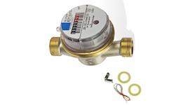 """Wasserzähler Wasseruhr DELTA AP Funk-V 1/2"""" AG x 110 mm - kalt"""