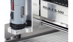 Graviermaschine HIGH-Z S-400 - fräsen, gravieren, markieren, u.v.m.