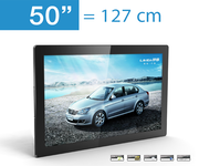 Indoor 50 Zoll LCD Werbedisplay AD-PF50H7