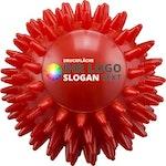 Igelball Massageball rot bedruckbar