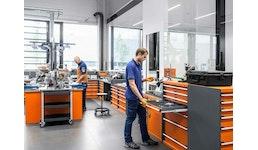 Kundenservice und Produktion