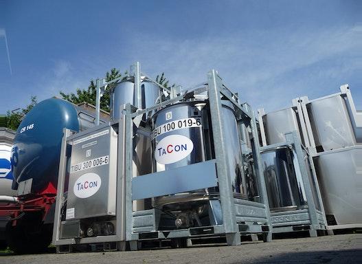 1000 Liter Edelstahl IBC  (Intermediate Bulk Containers)