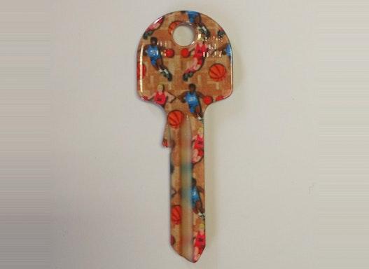 Keyline Hausschlüssel UN5DF mit verschiedenen Motiven