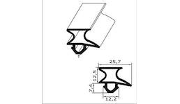 Kühl- und Gefrierschrank-Ersatzdichtung - Profil Nr. CGK-2172
