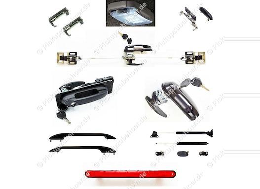 Pickup Hardtop Ersatzteile / Hardtop Reparaturteile / Hardtop Herstellung / Pickup Laderaumabdeckungen Herstellung
