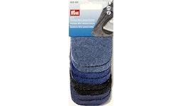 4x2 Patches Mini Jeans/Cotton 8 x 6 cm sortiert