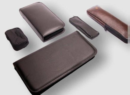 Softtaschen mit und ohne Polsterung/Reißverschlussmappen