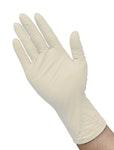 Einweg-Latexhandschuhe IBZ-14-WHITE