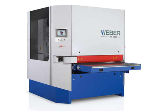 Weber PT Entgratmaschinen Schleifmaschine