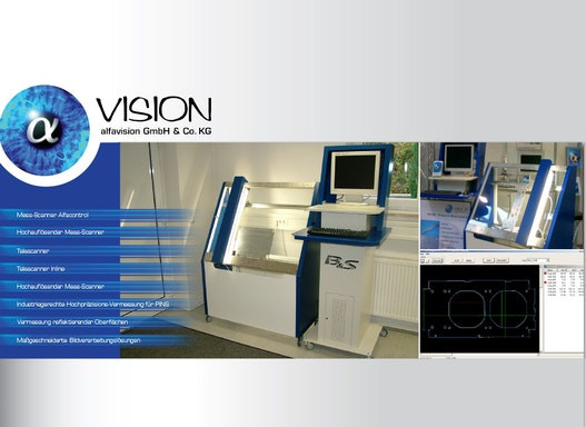 Mess-Scanner Alfacontrol