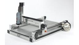 Graviermaschine HIGH-Z S-720 - für das Gravieren, Fräsen, Markieren