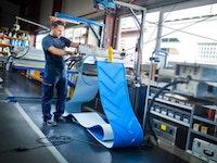 Transportbändern, Antriebsriemen, Kunststoff ‑ Modulbänder