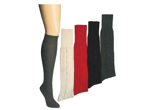 Kniebundhosen-Strümpfe in Farbig
