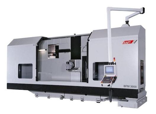 Bettfräsmaschine - Universal KRAFT BFM 2600 №1124-91037