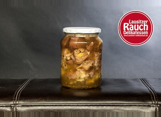Sauerfleisch in Aspik im Glas 650g