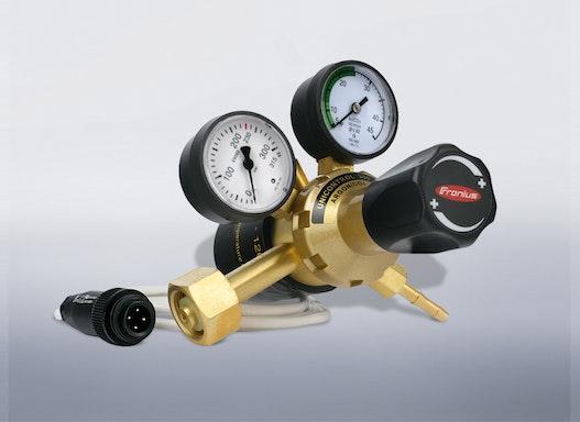 Flaschen-Druckminderer mit integrierter Vorwärmung