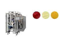 Schlauchbeutel-Maschine zum Verpacken flüssiger Produkte: WOLF VPC-L 250 Liquid Master