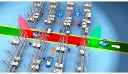 Zonenbezogene Geschwindigkeitsreduzierung , Kollisionsschutzsensoren
