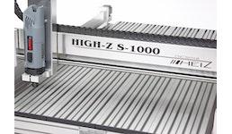 CNC Portalfräse S-1000 / CNC Graviermaschine / CNC Fräse zum 2D und 3D Fräsen, Gravieren, Drechseln, Dosieren