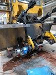 Reparatur von Baumaschinen