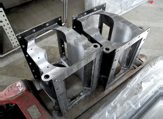 Zellenradschleusen - Stahl