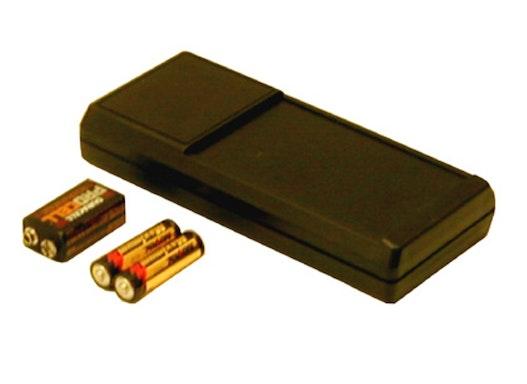 Pactec TS-2AA/9VB Handgehäuse mit Batteriefach
