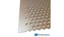 Aluminium Lochblech Rv 5-8 1,5mm Stärke