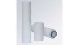 Filterkerzen aus Tiefenfiltermaterial