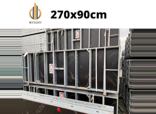 Wandschalung Tafel 270x90cm Typ Rasto Midi Box