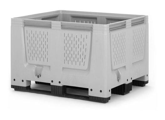 Batteriesammelbox 670 Liter mit Kufen und UN-Zulassung