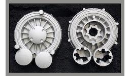 Aluminiumgussstücken