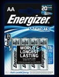 Lithiumbatterie AA Energizer Ultimate