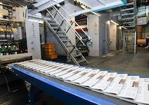 Zeitungsbeilagen im Rheinischen Halbformat