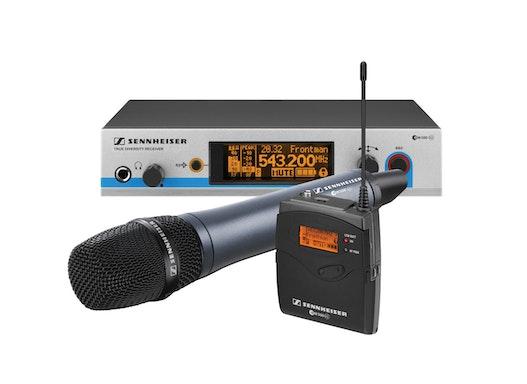Sennheiser ew500 Funkmikrofonanlage wahlweise mit Handsender oder Taschensender