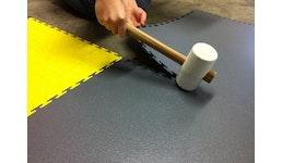 Flexi-Tile PVC Boden - ineinandergreifende PVC Fliesen