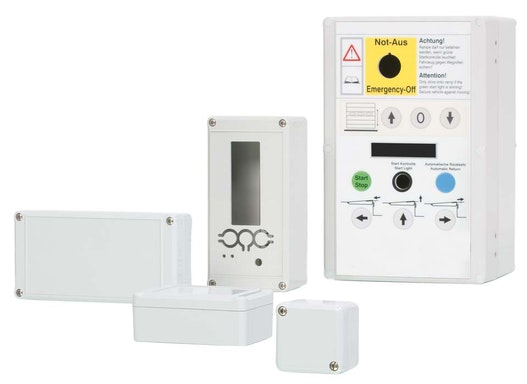 Euromas II - Elektronikgehäuse mit Schutzart IP65 und montagefreundlicher Verschraubungstechnik
