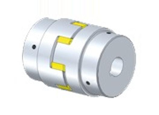 DREHELASTISCHE WELLENKUPPLUNG (Aluminium)- WKE/AL