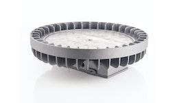 Aluminiumgussteil mechanisch bearbeitet, beschichtet