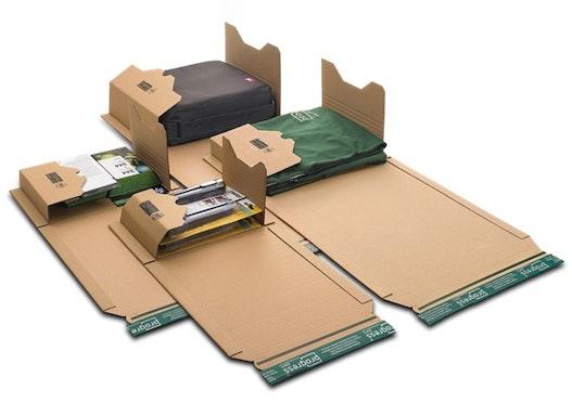 """Buchverpackung A4 """"ECO"""", innen: 300x220x-80 mm, außen: 353x222x-92 mm"""