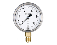 Rohrfedermanometer MAN-R, MAN-Q