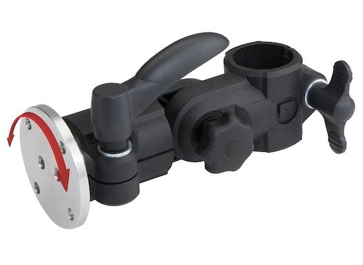 Monitorhalter mit Drehflansch (drehkbar, höhenverstellbar)