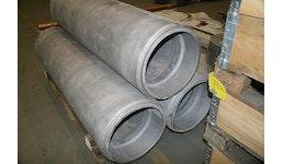 Gussrohr Aluminium Sandguss