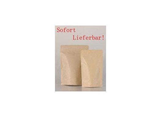 Ziplock-Beutel aus Kraftpapier für Tee und Gewürze