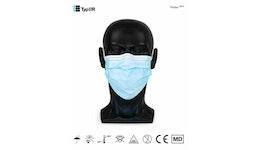 Medizinische OP-Maske Typ IIR  Protec MD