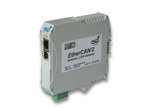 CAN-Ethernet-Gateway (EtherCAN/2)