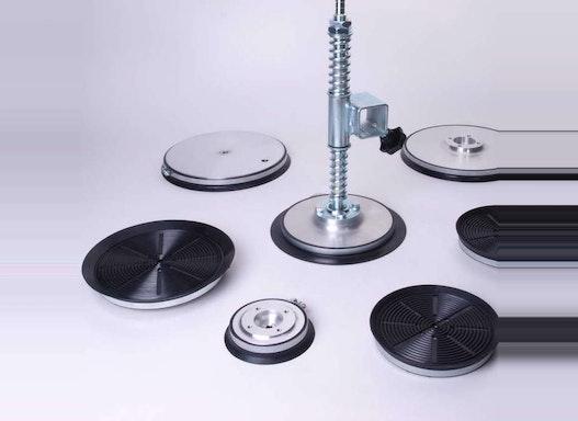 Vakuumkomponenten - Saugplatten und Zubehör