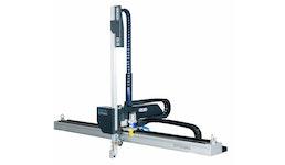 Linear- Handling für Spritzgießmaschinen