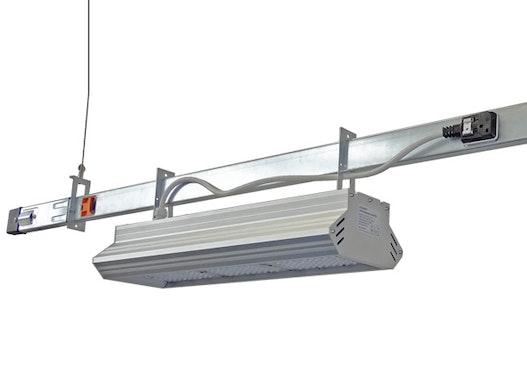 LEDAXO LED-Tragschienensystem 03 - Schnellmontagesystem für flexible Installation von LED-Industrieleuchten