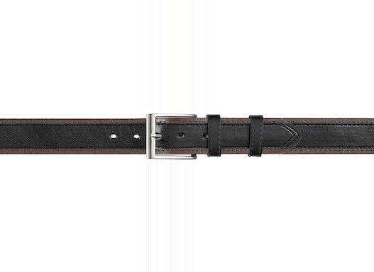 Gürtel schwarz, 4 cm