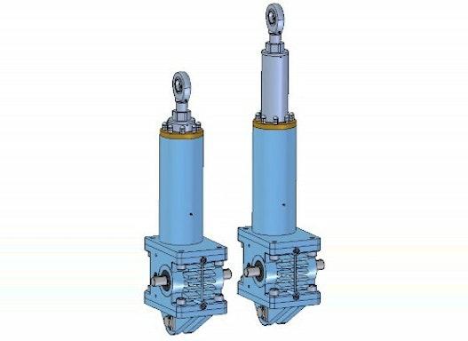 Hochleistungselektrozylinder